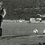 Juventus – Manchester United 3-0, ritorno sedicesimi Coppa Uefa 1976-77, il primo goal di Boninsegna
