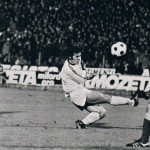 Juventus – Shakhtar Donetsk 3-0, andata ottavi Coppa Uefa, il goal di Boninsegna