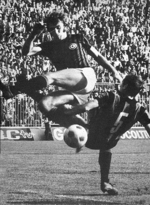 Milan – Atalanta 9-3 – Prati anticipa Vianello in azione d'attacco