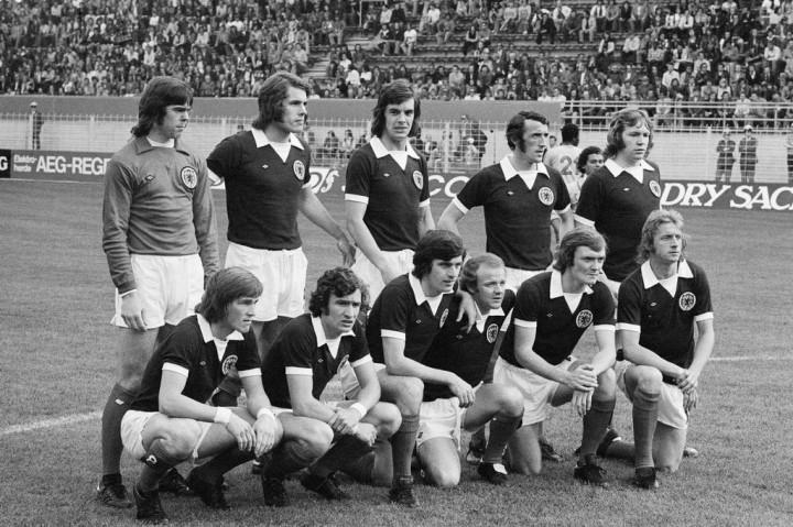 Scozia-Zaire 2-0: la Tartan Army scelta da Willie Ormond