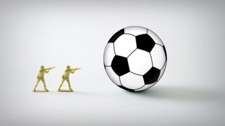 Due calciatori nel gorgo della guerra