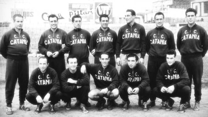 1954: la prima promozione in A del Catania