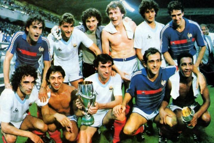 La Francia che il 28/8/1985 battè l'Uruguay