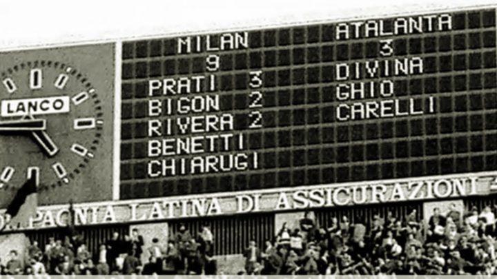 Milan Atalanta 9-3: la grande abbuffata