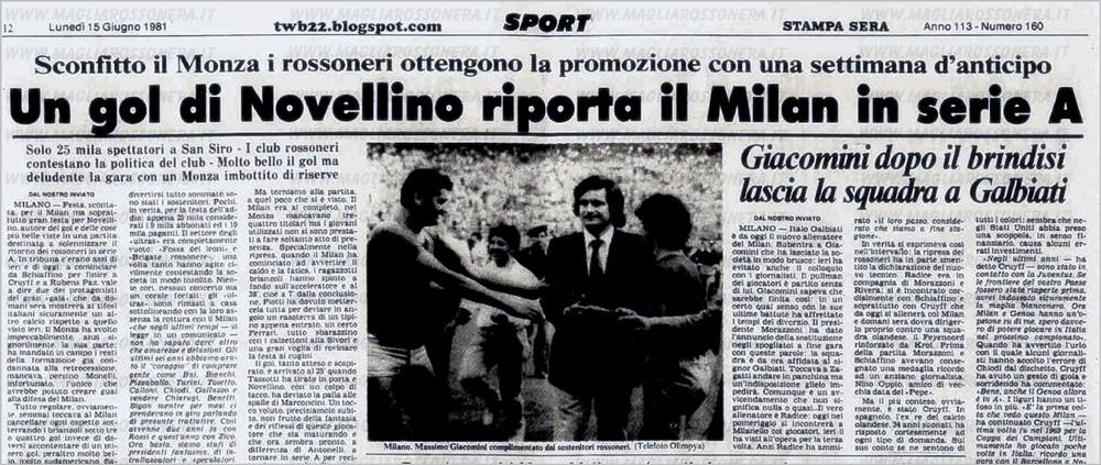 1980 Il Diavolo In Purgatorio Il Football Come Lo Abbiamo Amato E Sognato