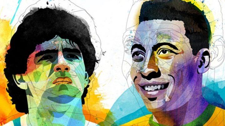 Maradona vs Pelè; la sfida è servita