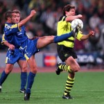 FUSSBALL: CHAMPIONS LEAGUE 96/97 FINALE in MUENCHEN