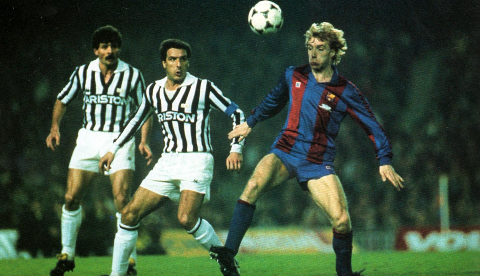 Barcellona-Juventus: Scirea e Archibald