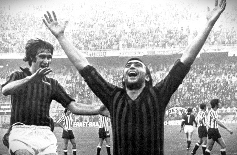 Milan-Athletic Bilbao: la gioia di Calloni dopo un gol