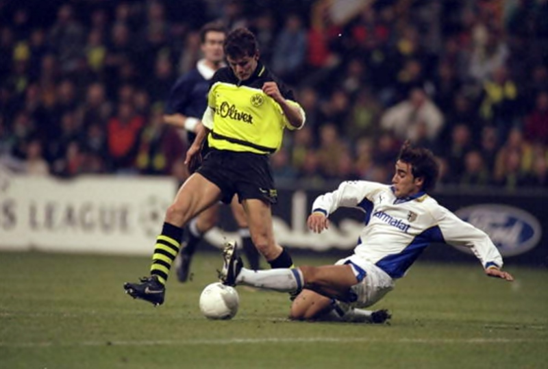 Borussia Dortmund 2-0: Andy Moller e Fabio Cannavaro