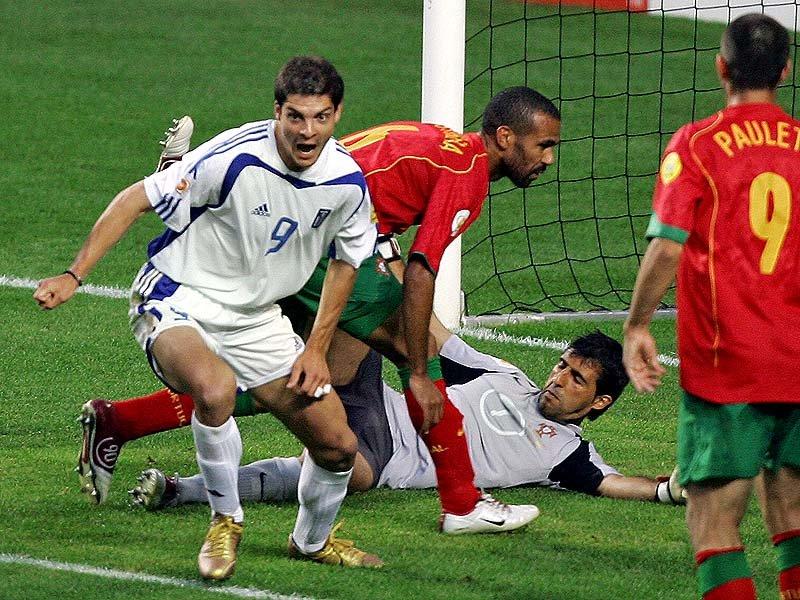 Finale Grecia-Portogallo: al 57' Charisteas decide il match