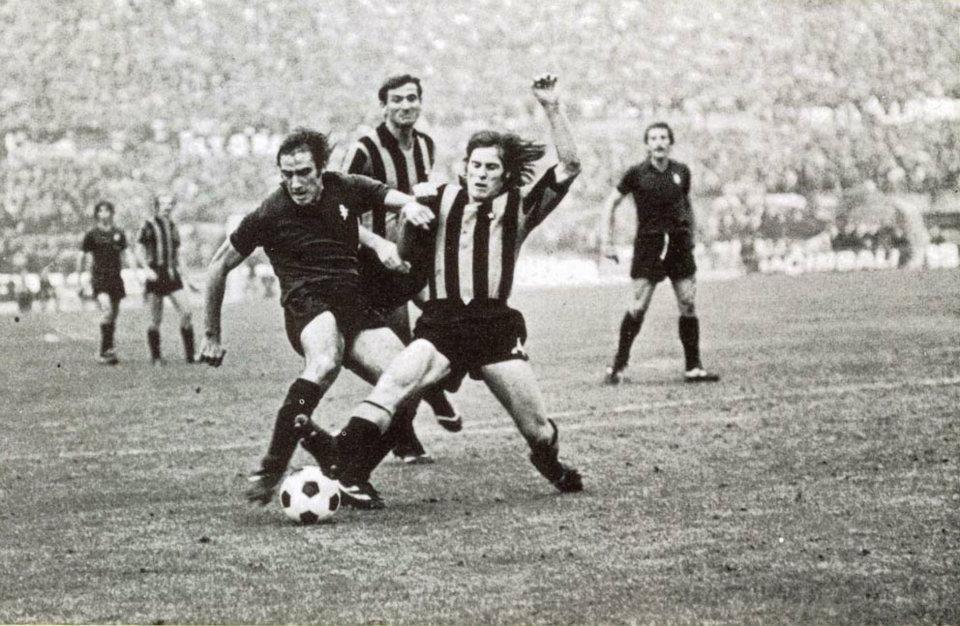 Torino - Inter 2-1, Graziani contrastato da Oriali