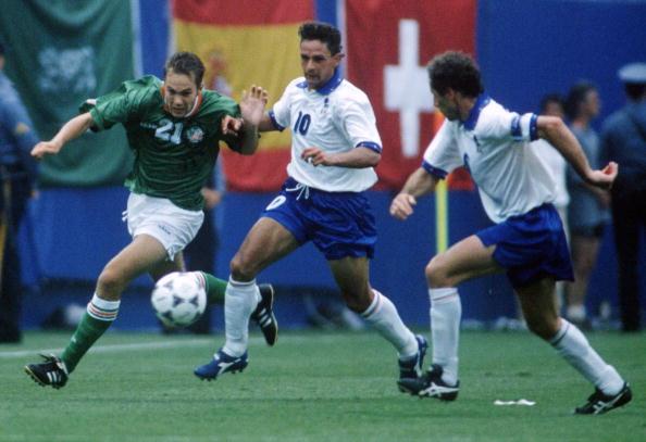 FUSSBALL: WM 1994 USA, ITALIEN - IRLAND