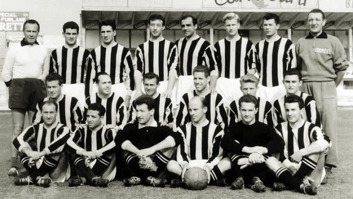 Udinese 1954/55: sfregiato un capolavoro