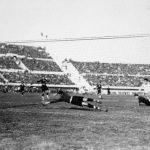 Argentina-Messico 6-3; presa del portiere messicano Bonfiglio