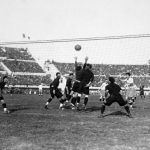 Argentina-Messico 6-3; un tentativo di Guillermo Stabile