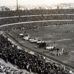 – Cerimonia di inaugurazione; vista dagli spalti dello stadio Centenario