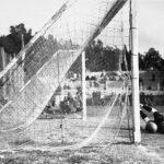 Jugoslavia-Bolivia 4-0; il portiere boliviano Bermudez