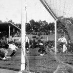 Jugoslavia-Bolivia 4-0; uno dei rari attacchi dei boliviani