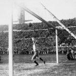 Uruguay-Argentina 4-2; la rete del 4-2 finale di Castro