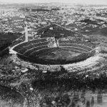Uruguay-Argentina 4-2;  vista dall alto dello stadio Centenario