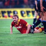 Football. UEFA Cup Final, Second Leg. Rome, Italy. 22nd May 1991. Roma 1 v Inter Milan 0 (Inter win 2-1 on aggregate). Roma's Rudi Voeller.
