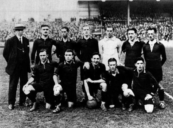 Il Belgio, vincitore della medaglia d'oro