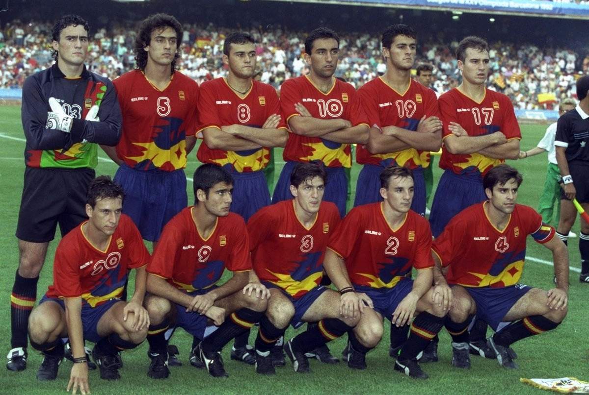 spagna-soccer-olympic-1992