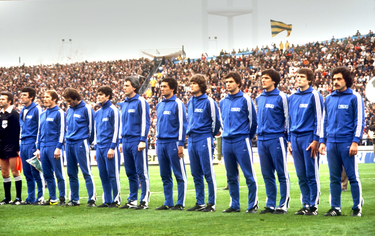 Azzurri line-up to face France World Cup 1978