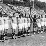Italia-Cecoslovacchia 2-1; l'Italia di Vittorio Pozzo