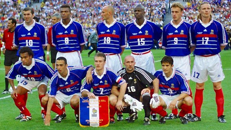 Risultati immagini per francia 98 francia croazia