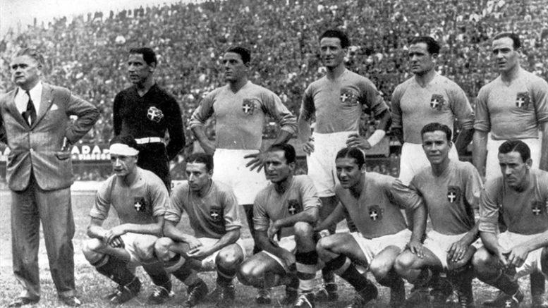 Risultati immagini per campionati del mondo fifa 1934