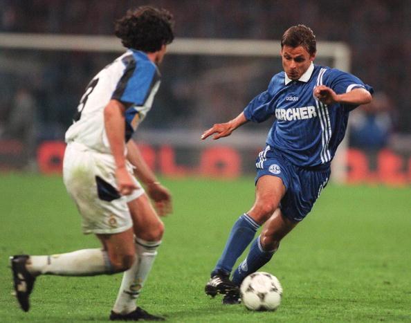 FUSSBALL: UEFA CUP 96/97 FINALE
