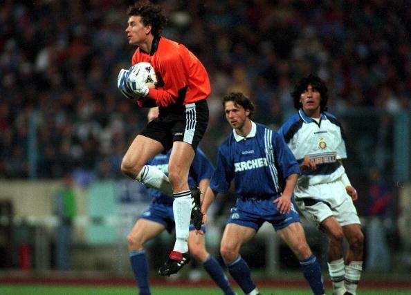FUSSBALL: UEFA POKAL, Gelsenkirchen, 7.5.97