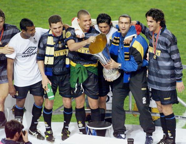 Inter Milan's Brazilian forward Ronaldo