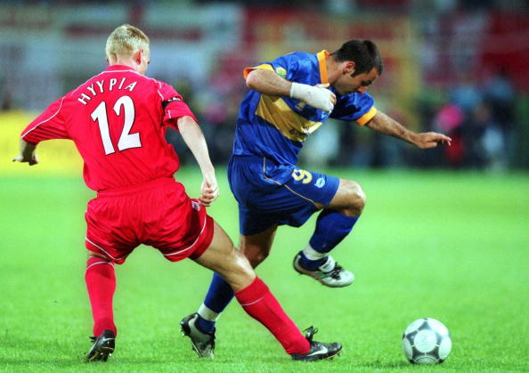 FUSSBALL/FC LIVERPOOL - CD ALAVES 5:4 nach Verlaengerung und Golden Goal