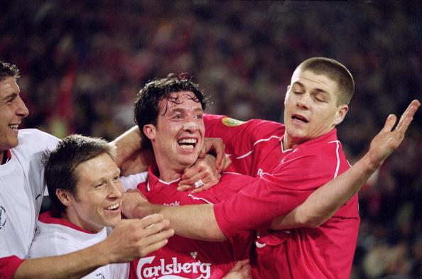Robbie Fowler, Nick Barmby, Steven Gerrard