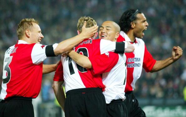 FUSSBALL: UEFA CUP FINALE 2002, FEYENOORD ROTTERDAM