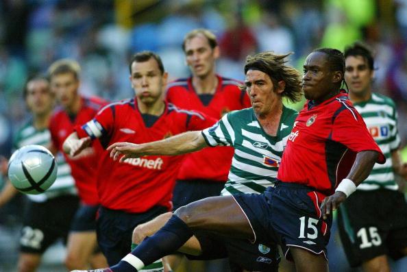 CSKA Moscow's Nigerian defender Chidi Od