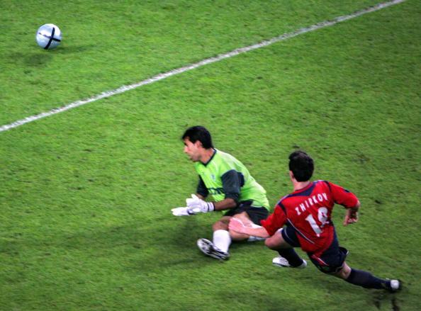 CSKA Moscow's Russian midfielder Yuri Zh