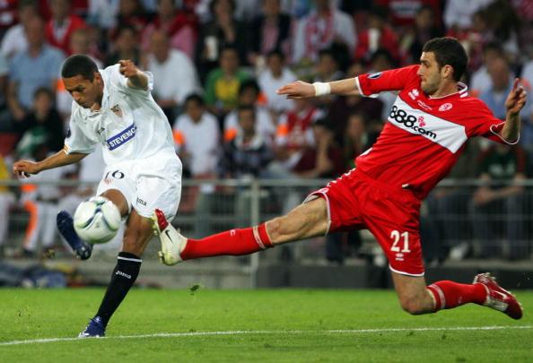 Sevilla's Spanish forward Jesus Navas Ad