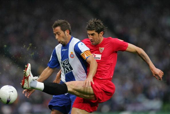 Sevilla footballer Ivica Dragutinovic  (