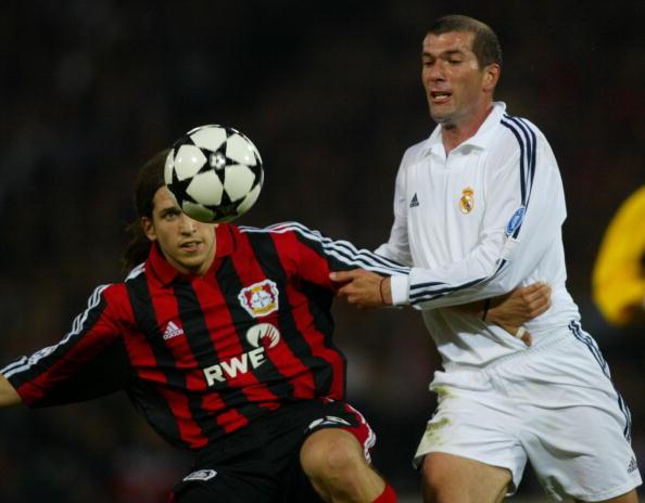 Bayer Leverkusen's Argentinian defender Diego Rodo