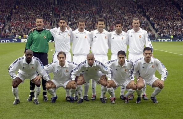 Football. UEFA Champions League Final. Hampden Park, Glasgow. 15th May 2002. Real Madrid 2 v Bayer Leverkusen 1