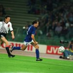 Franco Baresi of Italy and Alfred Hoertnagl of Austria