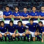 1990 World Cup Finals, Rome, Italy, 9th June, 1990, Italy 1 v Austria 0, Italy pose for a team group before the match