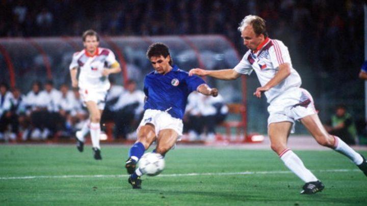 Mondiali 1990:  Italia-Cecoslovacchia 2-0