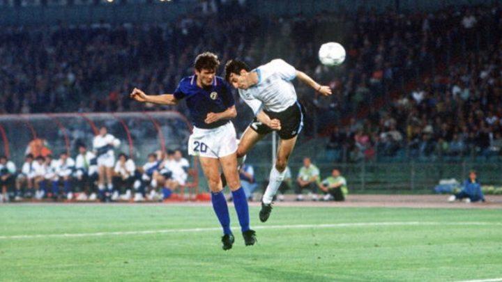 Mondiali 1990: Italia-Uruguay 2-0