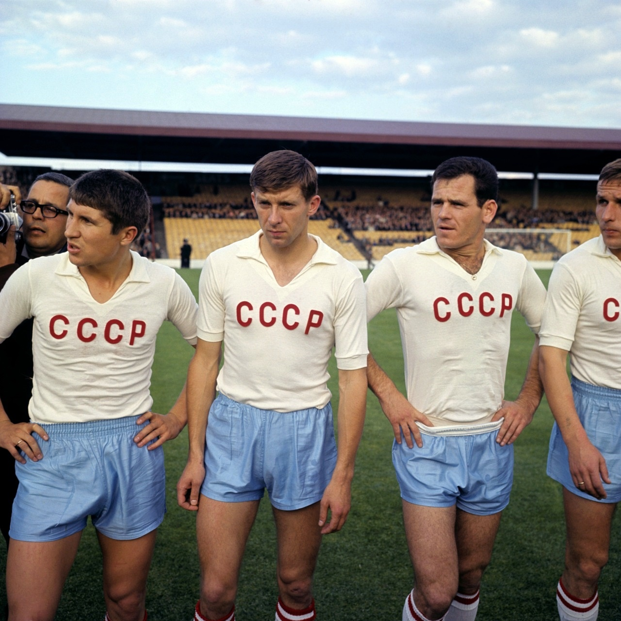 wchd-1966-urss-korea-Eduard Malofeev, Vladimir Ponomarev, Yozhef Sabo and Leonid Ostrovskiy