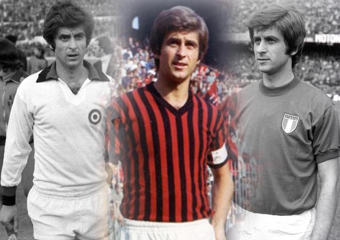 Gianni Rivera, a 15 anni nell'Alessandria e poi una carriera intera al Milan